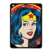 Super Hero Wonder Woman Protective Black TPU Cover Case For iPad 5 Air/iPad Mini/iPad 2 3 4  P39