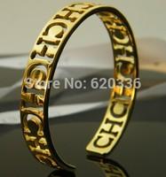 gold plated  titanium Carolina CH bangles