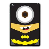 Lovely Batman Minion Funny Protective Black Hard Shell Cover Case For iPad 5 Air/iPad Mini/iPad 2 3 4(Free Shipping)  P24