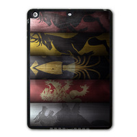 Game Of Thrones Archives Protective Black TPU Shell Cover Case For iPad 5 Air/iPad Mini/iPad 2 3 4(Free Shipping)  P71