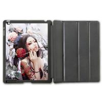 Vintage Retro Japanese Singer Protective Smart Cover Leather Case For iPad 2 3 4/iPad 5 Air/iPad Mini  P120