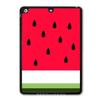 Lovely Cute Watermelon Shell Tablet Shape Black Hard Protective Cover Case For iPad 5 Air/iPad Mini/iPad 2 3 4   P62