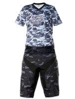2014 Camouflage Troy lee designs TLD Moto Shorts Bicycle Cycling Shorts MTB BMX DOWNHILL Mountain biking Short Pants+T-shirt