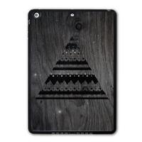 Free Shipping Nebula Aztec Triangle Protective Shell Cover Case For iPad 5 Air/iPad Mini/iPad 2 3 4(Printed Wood)   P57