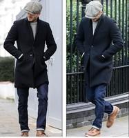 Hot sale! 2014 new visors men woolen vintage fashion octagonal cap male autumn and winter newsboy cap painter hat