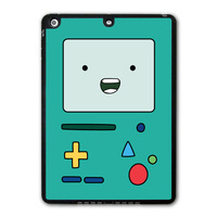 Adventure Time Beemo Lovely Funny Protective Black TPU Cover Case For iPad 5 Air/iPad Mini/iPad 2 3 4 P06