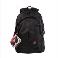 Swiss 2014 Zipper Backpacks Swiss Army Backpack Shoulder Computer Backpack Travel Laptop Bags Black Waterproof Backpack A007
