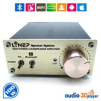 Free Shipping 100W Bluetooth wireless digital power amplifier with HIFI amplifier stereo power amplifier