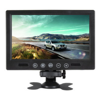 Remote Control 9 Inch LCD Car Rear View Monitor DVD VCR Headrest Monitor computer HD digital VGA/AV (Support as Computer Screen)