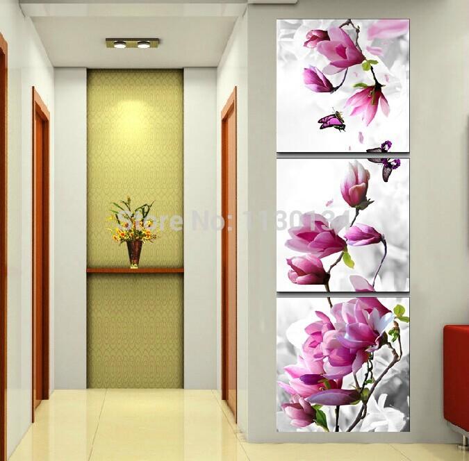 Peinture japonaise promotion achetez des peinture for Decoration murale verticale