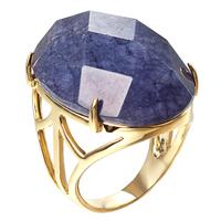 LA-1021, Hot selling   Fashion Designer Jewelry purple oval agate  big stone  Gold Color ring handmade jewelry