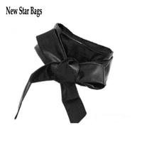 2014 New  Fashion Lady Bowknot Bind Wide Belt Belt Women Waist Sealing  H042E