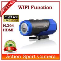 2014 New F33 Mini Sport camera Full HD 1080P 30FPS+Wifi+HDMI H.264 Video Action Helmet camera SG post Free shhipping