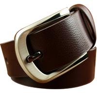 Men's Genuine Leather Belts Brand designer 4 colors Fashion Business belts Pin buckle Cintos Cinturon M145 Free shipping