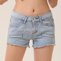 new desigual 2014 summer women shorts,mid-waist loose plus size slim show thin denim ripped jeans,fashion women clothing S-XL