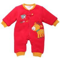 Baby Romper 3 Layer Warm Velvet One piece Size 3-18 Months Winter Babe Clothes