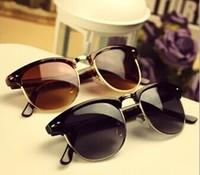 2014 New Fashion vintage women man Sunglasses Aviator Sunglasses  Eyeglasses star brand designer Sunglasses