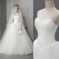 New 2014 Meidi boutique wedding formal dress bandage lacing tube top wedding qi train wedding dress bridal gown X170