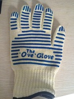 Free shipping  ~ ove glove Microwave Heat insulation oven gloves 1pc