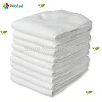 Babyland absorption microfiber diaper insert , diaper liner microfiber inserts 60 pcs/lot with FREE SHIPPING