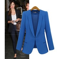 Spring 2014 women's new fashion was thin Slim small suit jacket female star models suit shipping