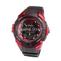 SL016- 2014 New Men Sports Watch men mechanical hand wind watches men digital analog silicon strap watch wristwatches Hours