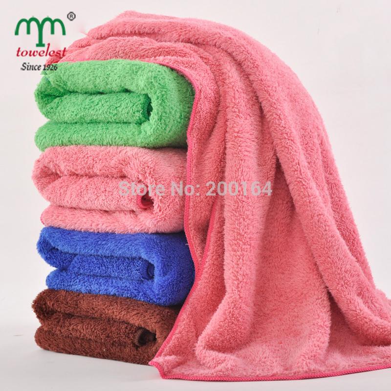 New2014 1PC 70*140cm Plush towel bathroom Microfiber Bath Towels magic towels Spa Swimming cloth MAOMAOYU Brand Free shipping(China (Mainland))