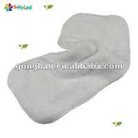 Three layers absorption microfiber diaper insert , diaper liner microfiber inserts, babyland inserts 30 pcs/lot
