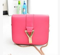 New arrival summer candy color y mini bag mobile phone bag one shoulder cross-body women handbag