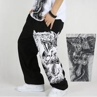 Loose plus size Hip hop pants Sport pants men Outdoor Fashion Casual pants sports trousers street dance men sweat pants BF-04