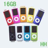 New 16GB 4th Gen MP4 Player 1.8'' LCD Video Radio FM Digital music Mp3 players