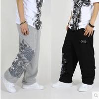 Hip hop fashion men Loose Plus size thin Sport trousers men Sweatpants street dance pants Hiphop pants sweatpants