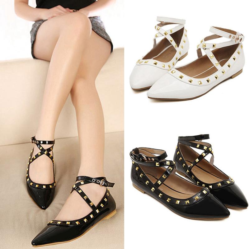 все цены на Женская обувь на плоской подошве sapatilhas femininos S032 онлайн