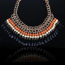 popular orange necklace