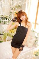 2014 Black Sexy Sleepwear Dress Sleeveless Pajamas Home Clothing Exotic Apparel Costumes   Dropshipping