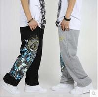 Men hip hop Loose plus size dance pants Hip hop dance loose pants Sportwear Casual Sports trousers
