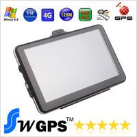 7 inch gps navigation,HD,MTK,DDR128M\4GB,FM,Russian\Czech\Hebrew\Bulgarian\Polish,Navitel8.5(RU+UKR+BLR+KAZ),Car GPS Navigator