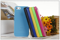 Wholesale Cell Phone Plastic Cooling net Mesh Protective Shell case cover  for iphone 4G 5G 5C 10pcs/lot