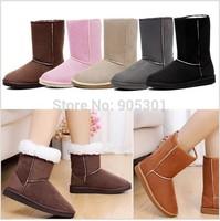 Hot Fashion Women Ladies Winter Warm Snow Boots Shoes,Size US 5-10, 6 Colors