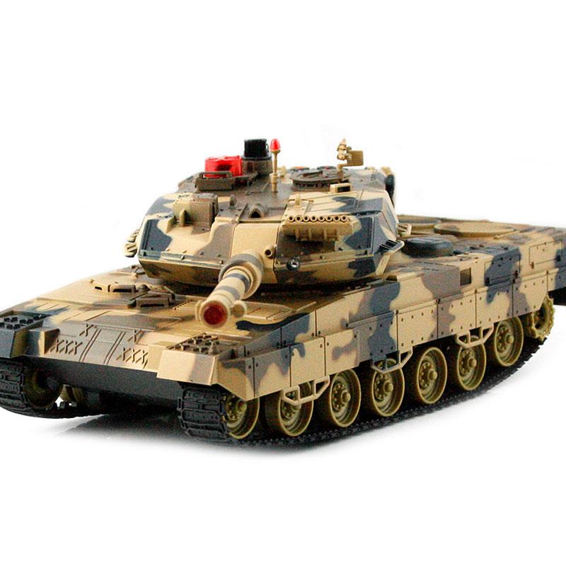 HQ RC Tank Battle Tank RC car Auto Demo 300 rotating turrets children's toys(China (Mainland))