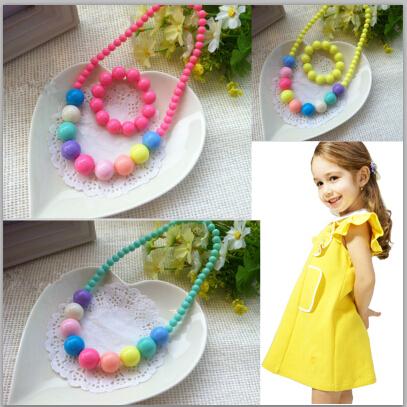 2014 Moda Coréia crianças jóias melhores produtos do bebê! Atacado Crianças / Kid Jóias Set jóias artesanais(China (Mainland))