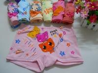 Free shipping Girls  Children Underwear Fashion Soft Cotton Kids Cute Cartoon Panties briefs children underware