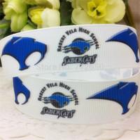 New 7/8'' 22mm printed grosgrain ribbon sport ribbon EF168 diy Bow Gift Wrap ribbon10 yards free shipping