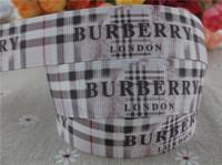 "2014 new arrival 7/8"" (22mm) logo printed grosgrain ribbon brand ribbon hairbows wholesale 50 yards"