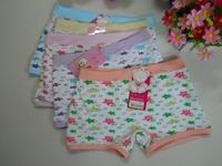 Free shipping Girls  Underwear Fashion Soft Cotton Kids Cute star  five pointed star  Cartoon Panties briefs children underware