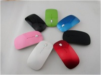 Super slim mini size 2.4G wireless optical mouse with 1000 DPI and various fashion colors, the best partner for laptop