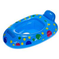 free shipping 1PCS Environmental Protection PVC Swim Seat Swim Ring Handle Baby Swimming Race Random Color