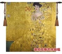 Beautiful wall tapestry  100% cotton belgium gobelin moroccan decor 140*140CM