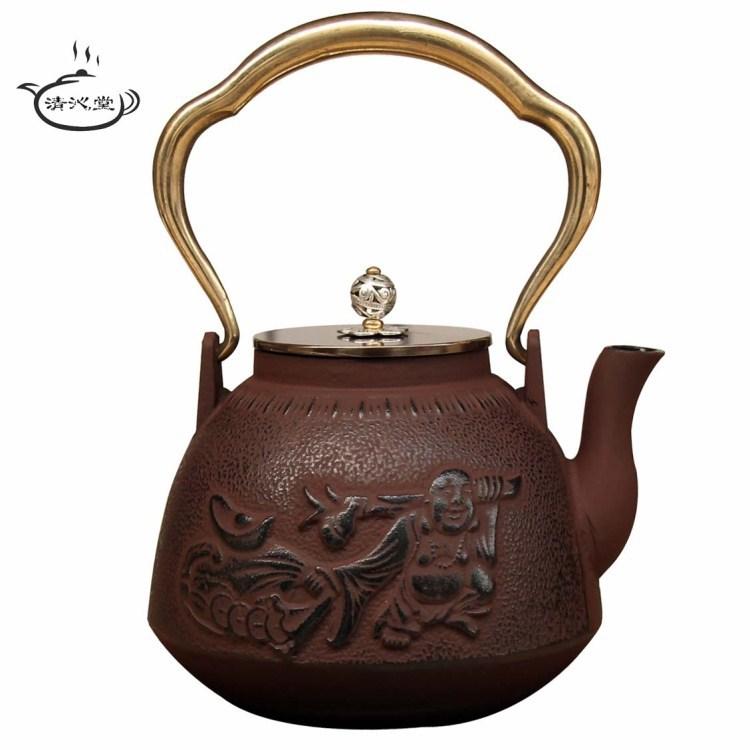 Japanese Copper Pots New Cast Iron Pot Copper Pot