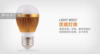 LED bulb LED energy-saving light bulbs high power 3W E14 LED E27 bulb bright eye